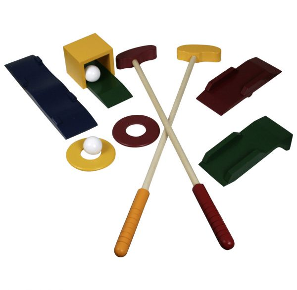 Outdoor Spielzeug Golfset für Kinder 10tlg