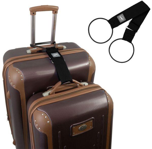 Trageschlaufe für Koffer und Taschen schwarz
