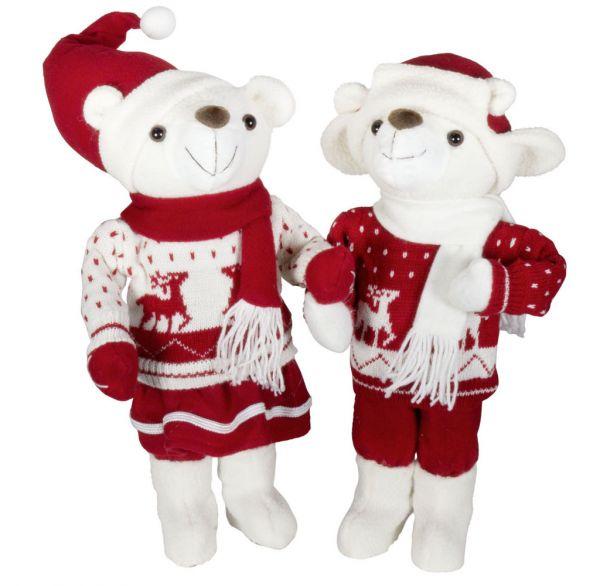 Weihnachtsbär 45cm - 2 Designs