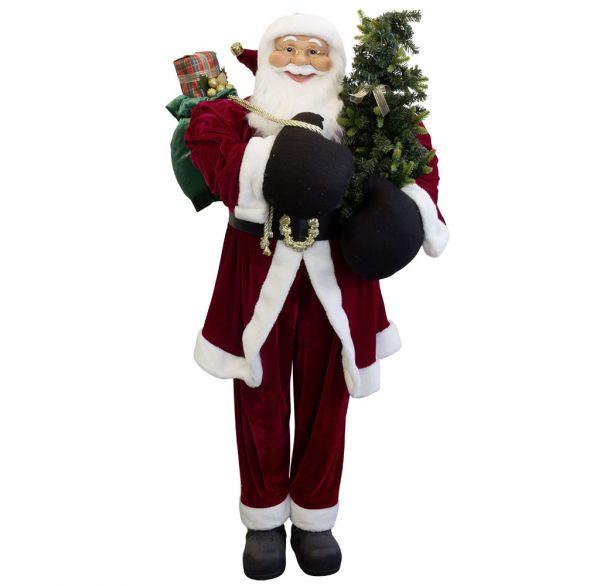 Weihnachtsmann Philip 150cm Lebensgröße