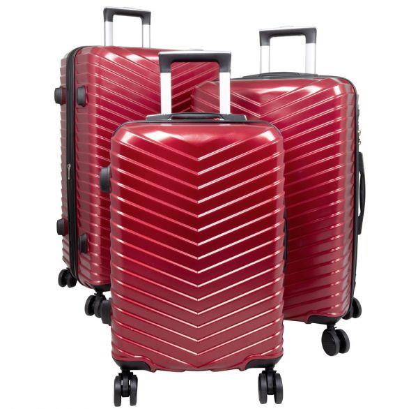 Polycarbonat Kofferset 3tlg Meran