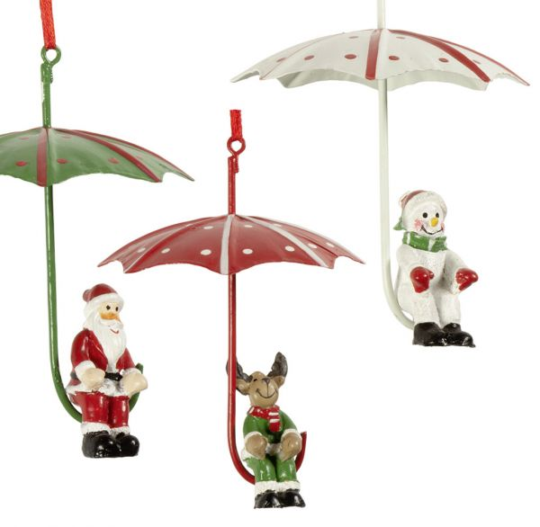 Baumschmuck Regenschirm 10cm