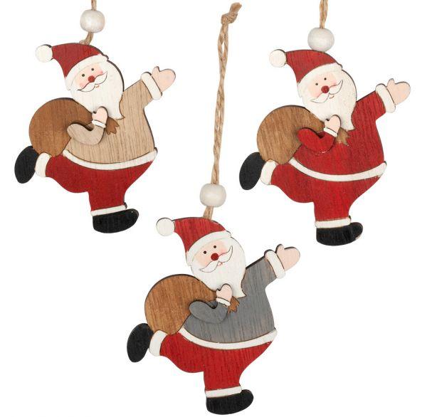 Baumschmuck Santa 9cm