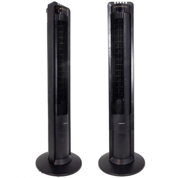Turmventilator 110cm schwarz