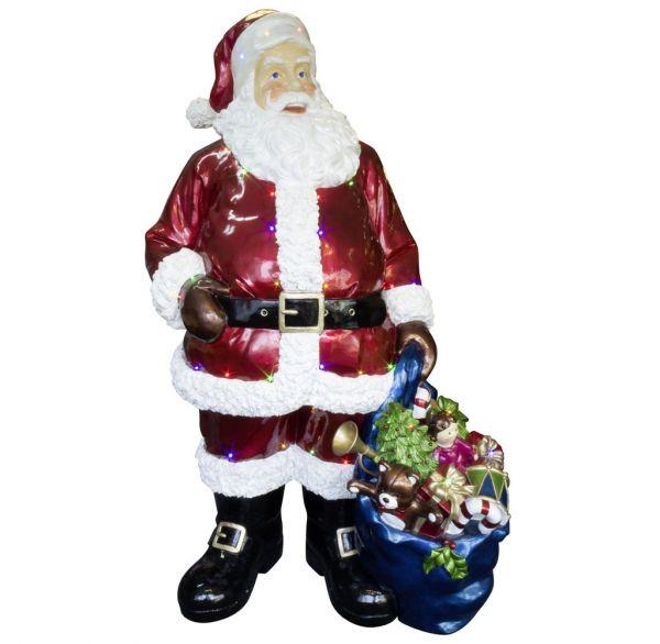 Outdoor Santa 190cm mit LED
