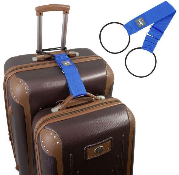 Trageschlaufe für Koffer und Taschen blau