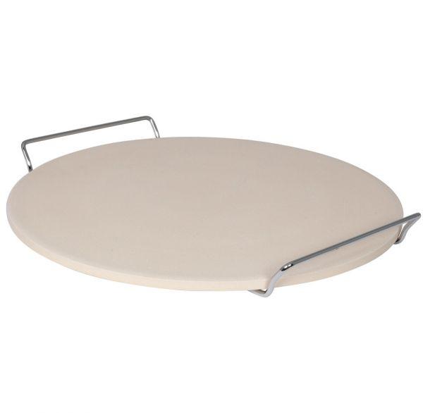 Pizza-Steinplatte rund 33cm