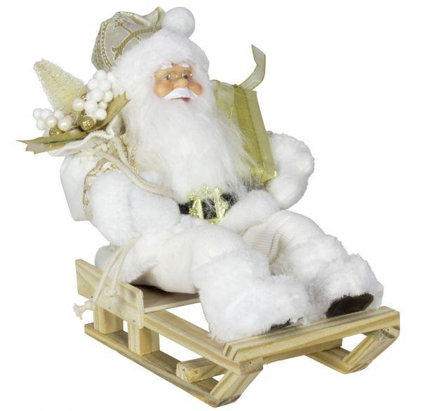 Santa Paul 30cm auf Schlitten