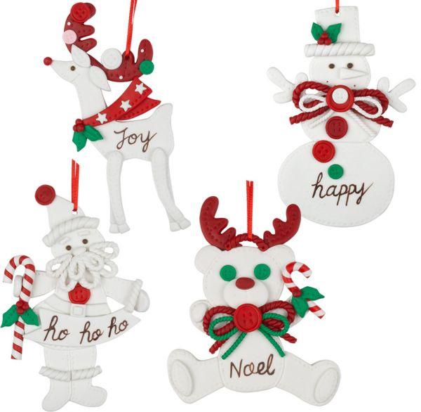 Baumschmuck Weihnachtsfiguren 14cm